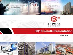 3Q2018 Results Presentation